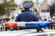 Leinwanddruck Bild - Police officer