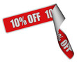 Band Sticker rot rore 10% OFF
