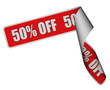 Band Sticker rore 50% OFF
