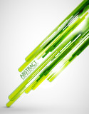 Fototapety Green straight lines background