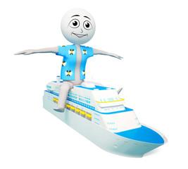 Man on the ship