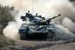 Война. Танк в движении - 41603863