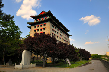 The southeast tower of the old Beijing