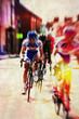 retro cycling road race