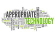 "Word Cloud ""Appropriate Technology"""