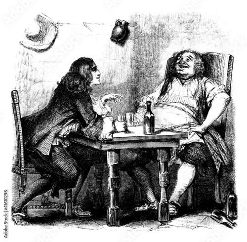 Scene : in a Tavern - 17th century