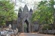 Puerta sur de Angkor Thom. Angkor. Camboya