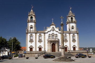 Church of Mercy in Viseu, Portugal.