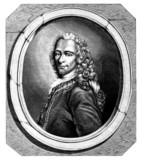 Fototapety Voltaire - 18th century