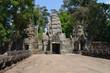 Acceso al templo de Preah Khan. Angkor. Camboya