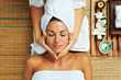 woman on spa