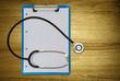 clipboard stethoscope