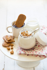 Yogurt home made con speculoos