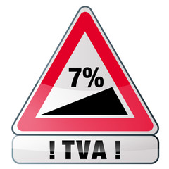 hausse de la TVA à 7%
