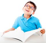 Fototapeta czytanie - książka - Dziecko