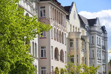 Jugendstilgebäude in Kiel, Deutschland