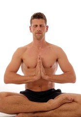 Yoga Halber Lotus Ardha Padmasana