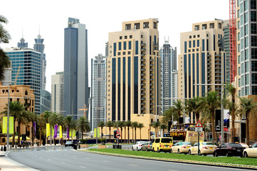 Dubai. Downtown