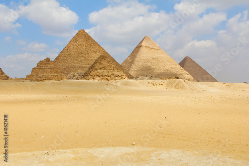 Piramids in Giza