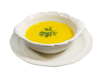 Carrot and Tofu Soup