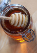 Stir stick in Honey Jar