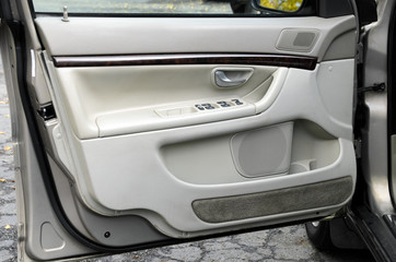 open car door