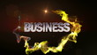 BUSINESS Word in Particle (Double Version) - HD1080