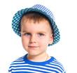 Little fashionable boy