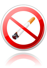 No smoking sigh Vector