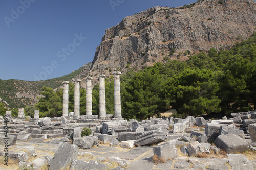 Ruins of ancient city
