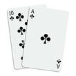 Blackjack - 21 en trèfle