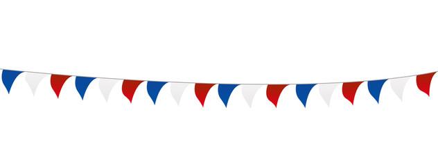 fanions - décoration - 14 juillet