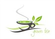 green tea, tea leaves , business logo design, India
