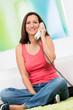 gemütlich telefonieren