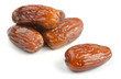 Group of dried date fruits