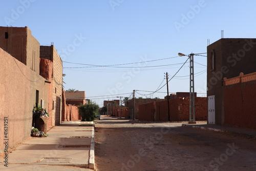 Fotobehang Algerije Timmimoun in Algerien