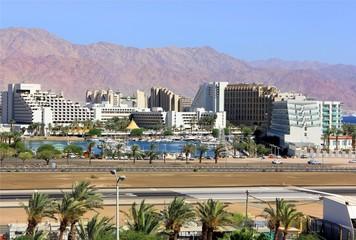 view of Eilat, Israel