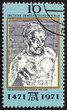 Postage stamp DDR 1971 Self-Portrait, by Albrecht Durer