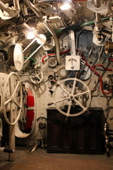 Interno di un Sottomarino della Prima Guerra Mondiale