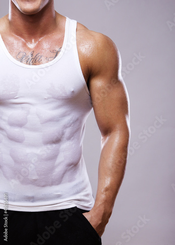 Image of muscle man