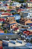 předměstské domy hobart tasmánie austrálie
