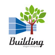 Logo building sustainable # Vector