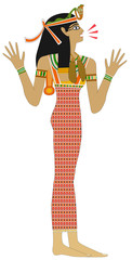 Egyptian woman - Remark