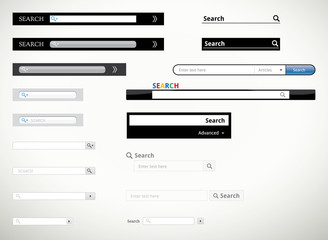 Search form templates and scribbles