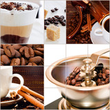 roasted coffee beans and ready coffee drinks