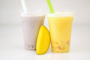 Bubble Tea Lila - Mango Shake gelb