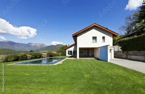 beautiful country house with swimming pool, outdoor
