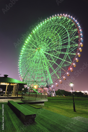 night ferris wheel