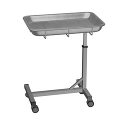 3d render of hospital table