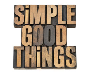 simple good things
